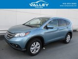 2014 Mountain Air Metallic Honda CR-V EX-L AWD #126579710