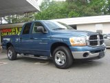 2006 Atlantic Blue Pearl Dodge Ram 1500 ST Quad Cab #12635018