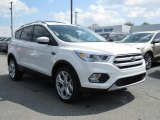 2018 White Platinum Ford Escape Titanium 4WD #126579848