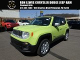 2018 Hypergreen Jeep Renegade Limited 4x4 #126579988