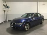 2018 Mediterranean Blue Metallic BMW 3 Series 330i xDrive Sedan #126607374