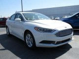 2018 White Platinum Ford Fusion SE #126607466
