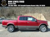 2018 Ruby Red Ford F150 Lariat SuperCrew 4x4 #126607391