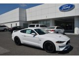 2018 Oxford White Ford Mustang GT Premium Fastback #126663607