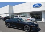 2018 Shadow Black Ford Mustang EcoBoost Fastback #126663605