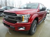 2018 Ruby Red Ford F150 XLT SuperCrew 4x4 #126663683