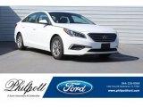 2017 Quartz White Pearl Hyundai Sonata SE #126678606