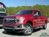 2018 Ruby Red Ford F150 XLT SuperCab 4x4 #126678349