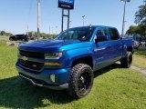 2016 Deep Ocean Blue Metallic Chevrolet Silverado 1500 LT Crew Cab 4x4 #126678720