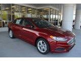 2018 Ruby Red Ford Fusion SE #126702915