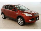 2015 Sunset Metallic Ford Escape Titanium 4WD #126702975