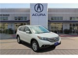 2014 White Diamond Pearl Honda CR-V EX AWD #126702866