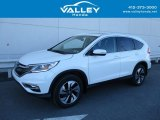 2016 White Diamond Pearl Honda CR-V Touring AWD #126714066