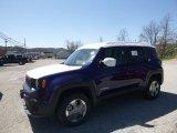 2018 Jetset Blue Jeep Renegade Sport 4x4 #126714370