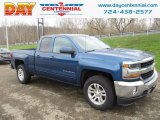 2018 Deep Ocean Blue Metallic Chevrolet Silverado 1500 LT Double Cab 4x4 #126714187
