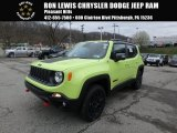 2018 Hypergreen Jeep Renegade Trailhawk 4x4 #126714450