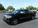 2019 Diamond Black Crystal Pearl Ram 1500 Limited Crew Cab #126714613