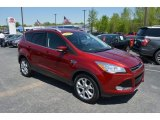 2014 Ruby Red Ford Escape Titanium 1.6L EcoBoost #126714263