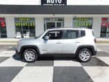 2017 Glacier Metallic Jeep Renegade Latitude #126714425
