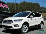 2018 White Platinum Ford Escape SE 4WD #126759800