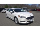 2018 White Platinum Ford Fusion SE #126771329