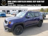 2018 Jetset Blue Jeep Renegade Latitude 4x4 #126773243