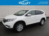 2015 White Diamond Pearl Honda CR-V EX #126792611