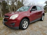 2010 Cardinal Red Metallic Chevrolet Equinox LS #126792833