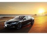 2013 Black Tesla Model S P85 Performance #126809869