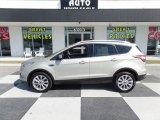 2018 White Gold Ford Escape Titanium #126835973
