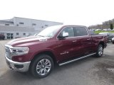 2019 Delmonico Red Pearl Ram 1500 Long Horn Crew Cab 4x4 #126857030
