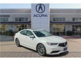 2018 Bellanova White Pearl Acura TLX V6 Sedan #126856871