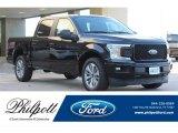 2018 Shadow Black Ford F150 XL SuperCrew #126881106