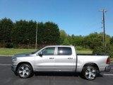 2019 Billett Silver Metallic Ram 1500 Laramie Crew Cab 4x4 #126894677