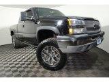 2003 Dark Gray Metallic Chevrolet Silverado 1500 LS Extended Cab 4x4 #126894897