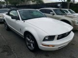 2007 Performance White Ford Mustang V6 Premium Convertible #126894866