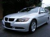 2008 Titanium Silver Metallic BMW 3 Series 328i Sedan #12687398