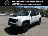 2018 Alpine White Jeep Renegade Trailhawk 4x4 #126917830