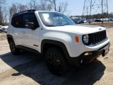 2018 Alpine White Jeep Renegade Trailhawk 4x4 #126917663