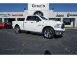 2014 Bright White Ram 1500 Big Horn Quad Cab #126917774