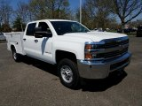 2018 Chevrolet Silverado 2500HD Work Truck Crew Cab 4x4 Chassis Data, Info and Specs