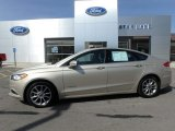 2017 White Gold Ford Fusion Hybrid SE #126936019