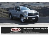 2018 Cement Toyota Tundra SR5 Double Cab 4x4 #126935686