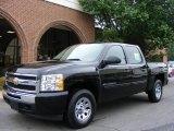 2009 Black Chevrolet Silverado 1500 LT Crew Cab 4x4 #12687380