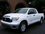 2008 Super White Toyota Tundra Double Cab #12687377