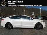 2017 White Platinum Ford Fusion Sport AWD #126967664