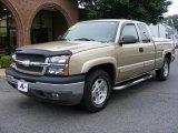 2005 Sandstone Metallic Chevrolet Silverado 1500 Z71 Extended Cab 4x4 #12687332