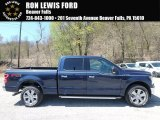 2018 Blue Jeans Ford F150 XLT SuperCrew 4x4 #126967655