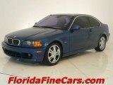 2002 Topaz Blue Metallic BMW 3 Series 325i Coupe #1266345