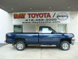 2000 Patriot Blue Pearlcoat Dodge Ram 1500 ST Regular Cab 4x4 #12671020